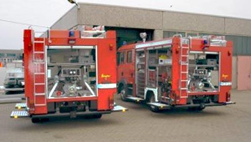 Feuerwehrfahrzeuge 1 Stadum
