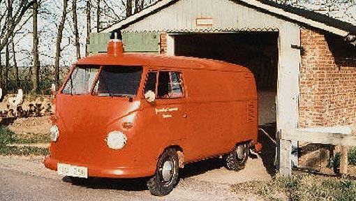 Feuerwehrfahrzeug Holzacker 1967