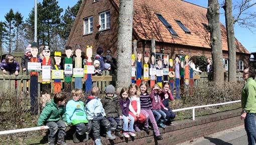 Kindergarten Stadum Kindergruppe
