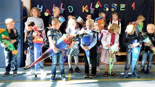 Schulanfänger Grundschule Stadum