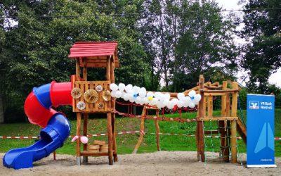 Einweihung Kinderspielplatz